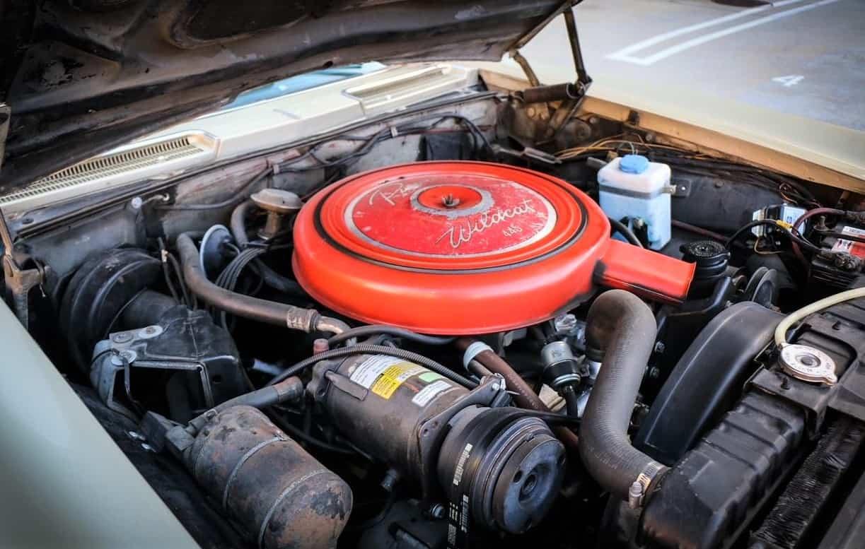 1963 Buick Riviera engine