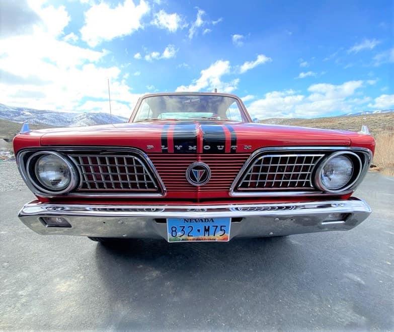 1966 Barracuda rear