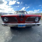 1966 Barracuda front
