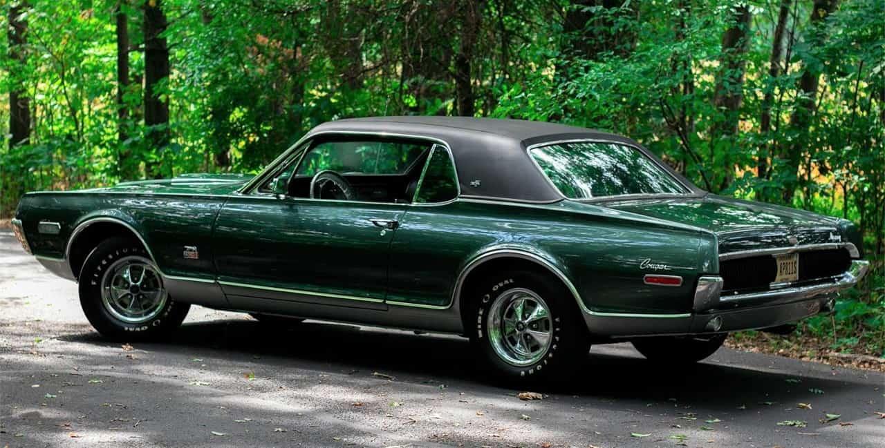 1968 Mercury Cougar XR7 GT-E, rare performance edition