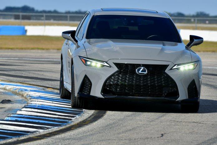 2022 Lexus IS 500 F Sport Launch