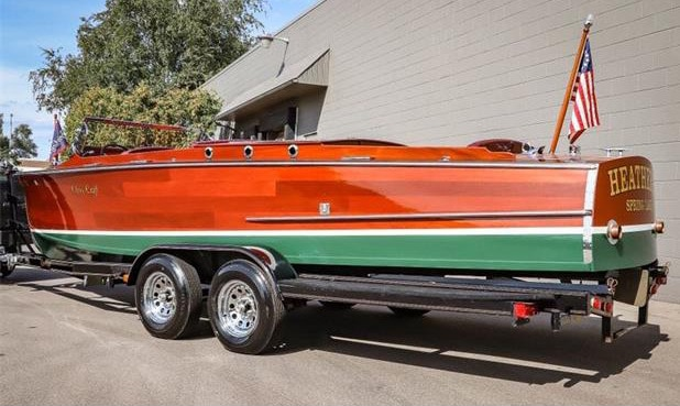 Great grandson recreates a 1930 Chris-Craft Model 103