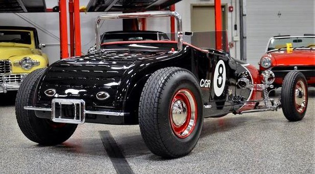 Ford Track T roadster was a father/daughter project