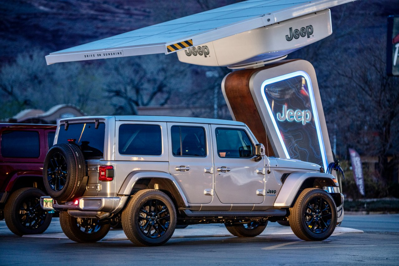 Jeep, Electrify America, Jeep installing off-road trailhead charging stations, ClassicCars.com Journal