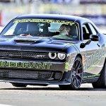 A-Dodge-Challenger-SRT-Hellcat-on-the-autocross-course-Bondurant