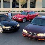 Acura trio available on AutoHunter main