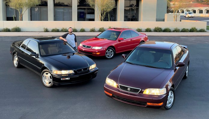 Acura trio available on AutoHunter