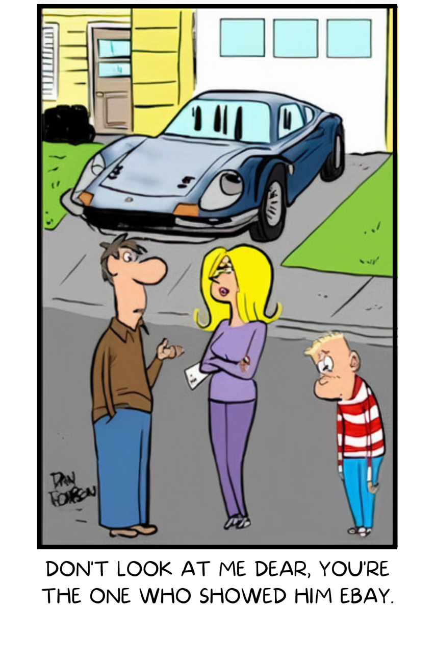 classic carl, Classic Carl caption contest: The winner is revealed, ClassicCars.com Journal