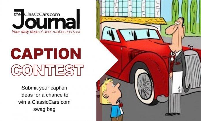 Classic Carl cartoon caption contest