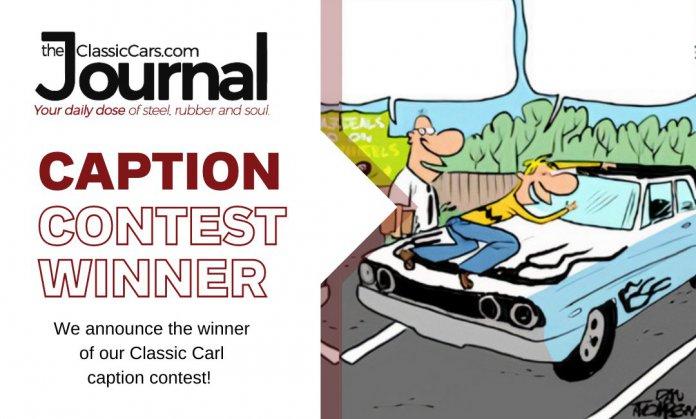 Classic Carl caption contest