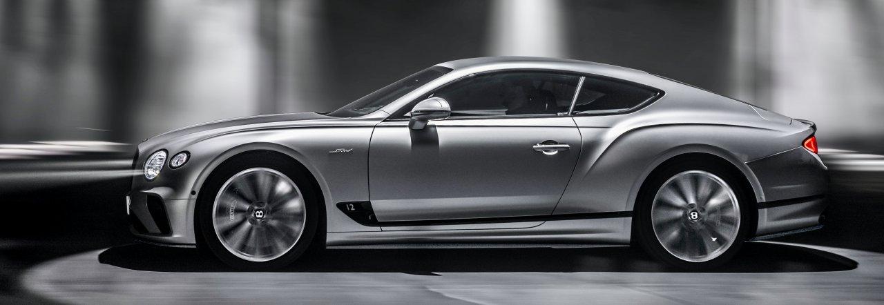 Bentley unveils new Continental GT Speed