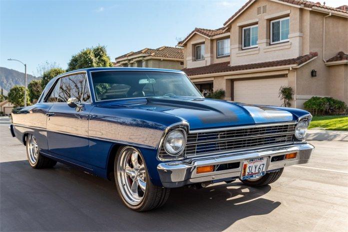 Custom 502-powered 1967 Chevy Nova