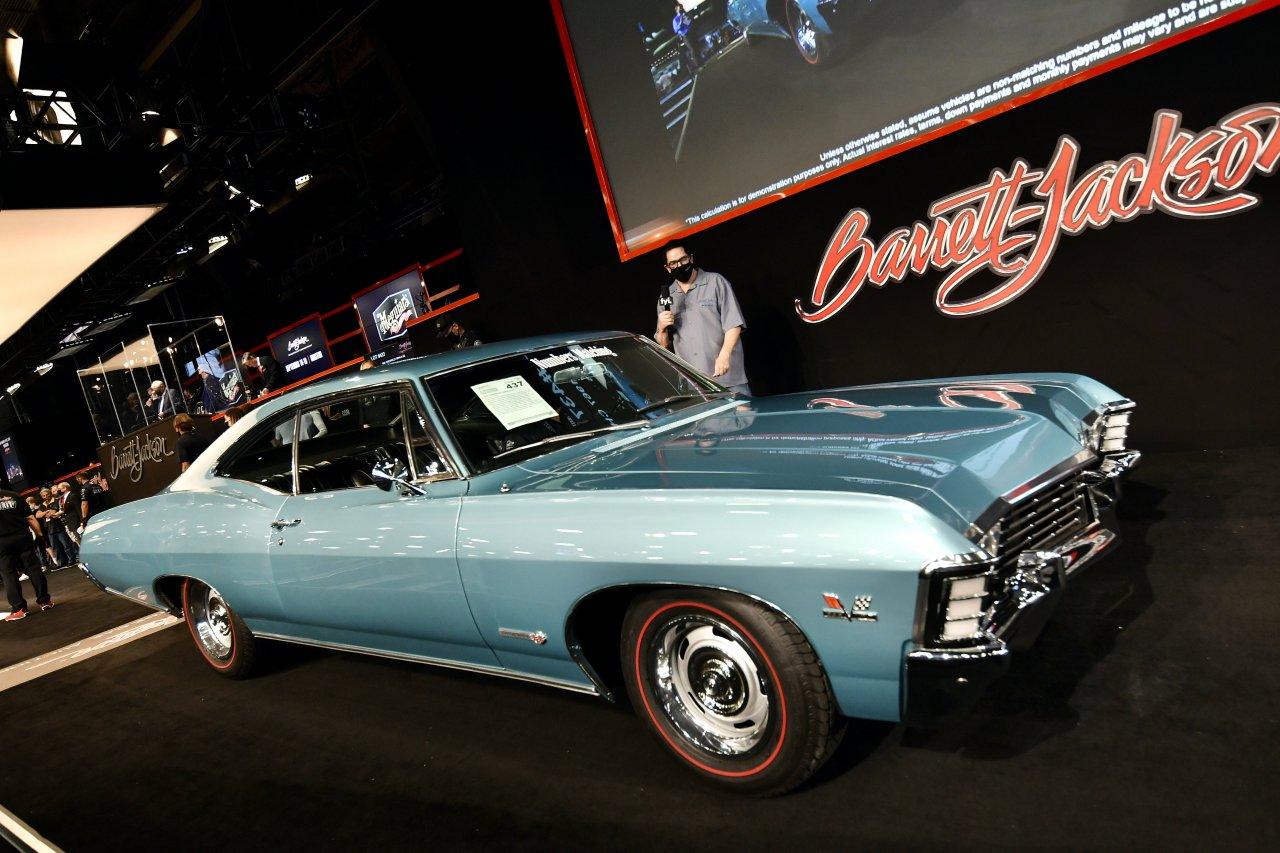 "1967 m. ""Chevrolet Impala SS"""