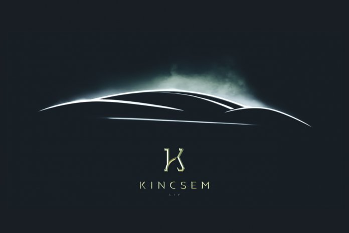 Teaser image of the Ian Callum-designed Kincsem Hyper-GT