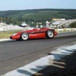Maria-Teresa-de-Filippis-and-Maserati-250F-at-Belgain-Grand-Prix