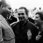 Maria-Teresa-de-Filippis-with-Juan-Manuel-Fangio-and-Jean-Behra-Monaco-GP-1959