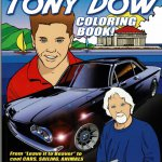 Official Tony Dow coloring book