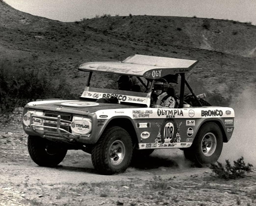 Parnelli Jones' Baja-raced 'Big Oly' Ford Bronco joins Mecum's Indy  auction