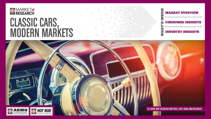 SEMA sees emerging trends in classic car hobby