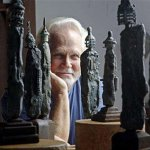 Tony Dow sculptures-Dow photo
