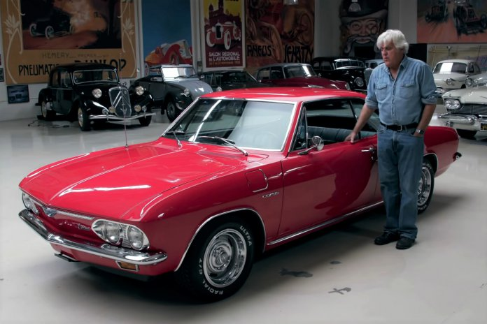 Here's why Jay Leno thinks the 1966 Chevrolet Corvair Corsa is an under-appreciated classic