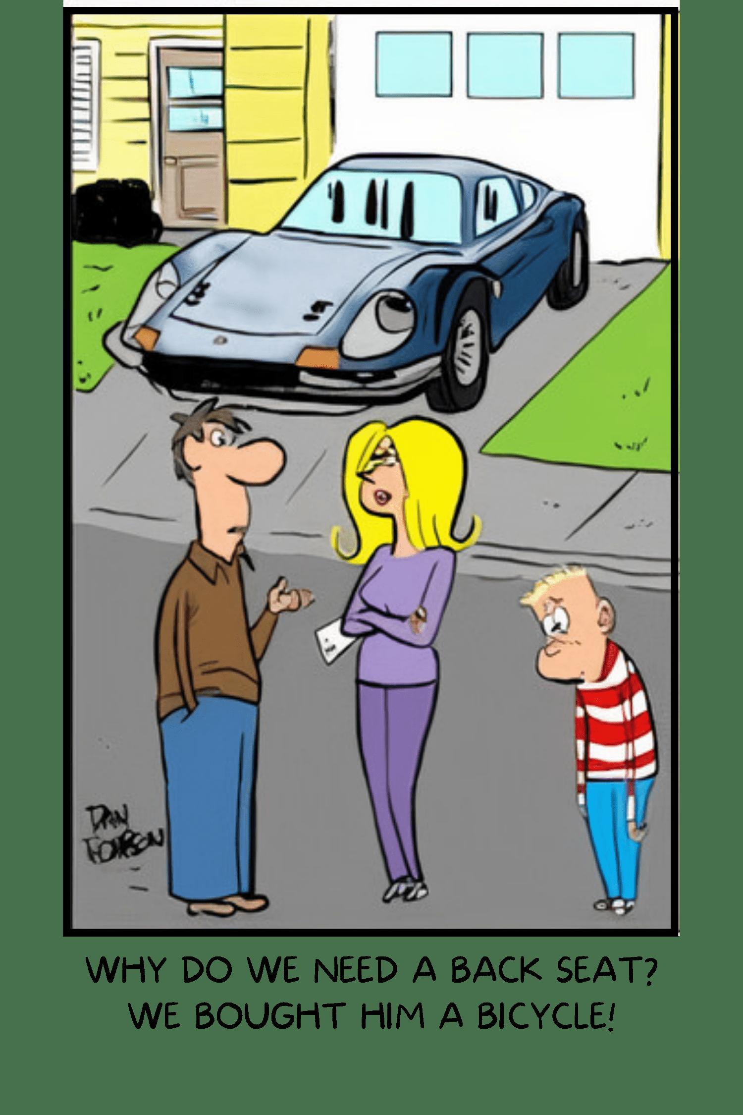 Classic Carl caption cartoon contest