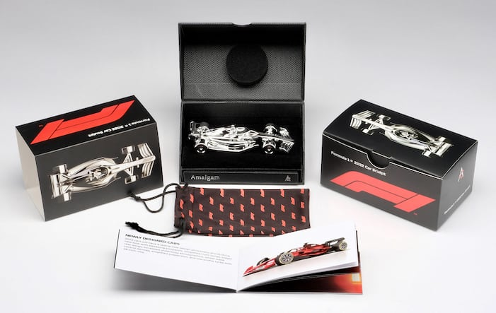 model car, 2022 F1 race cars available — as scale-model sculptures, ClassicCars.com Journal