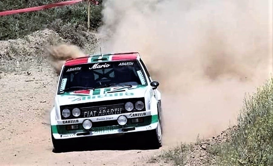 Pick of the Day: 1979 Fiat 131 Abarth built as a vintage rally car