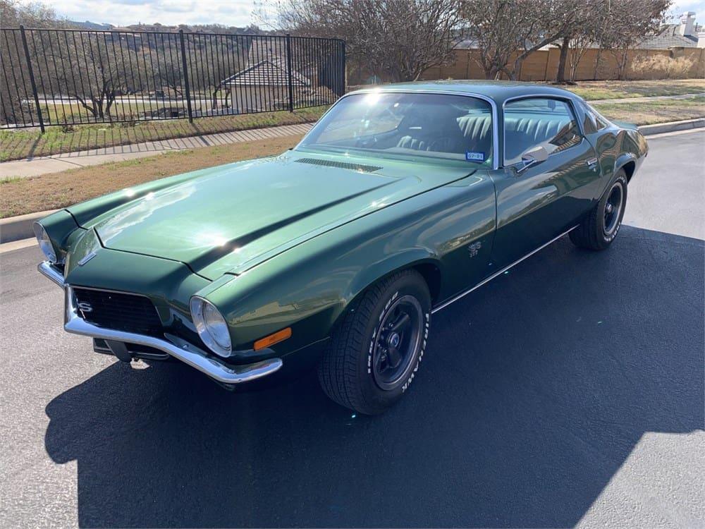 1970 Chevrolet Camaro SS matching-numbers 396/350