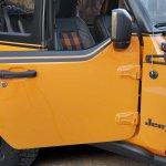 Based on a two-door Wrangler, the Jeep® Orange Peelz concept pa