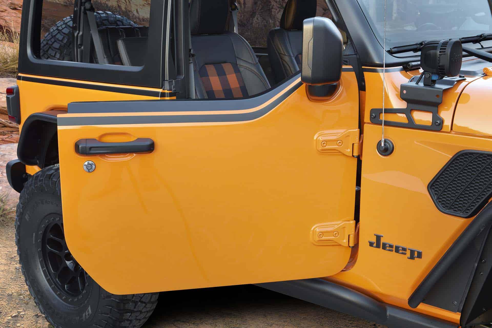 Electric Jeep Wrangler Magneto