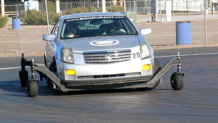 Bondurant skid car