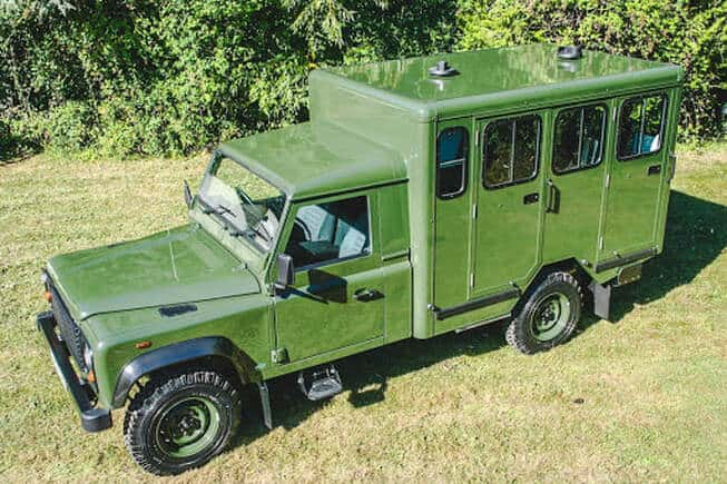 Prince Philip's custom Land Rover Defender to carry his casket