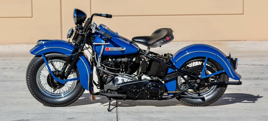 Full set of Harley-Davidson Knuckleheads on Mecum Vegas docket