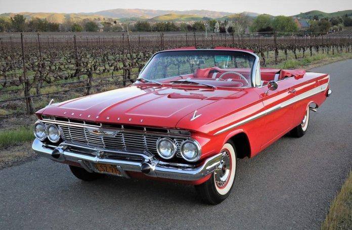 1961 Chevy Impala convertible main