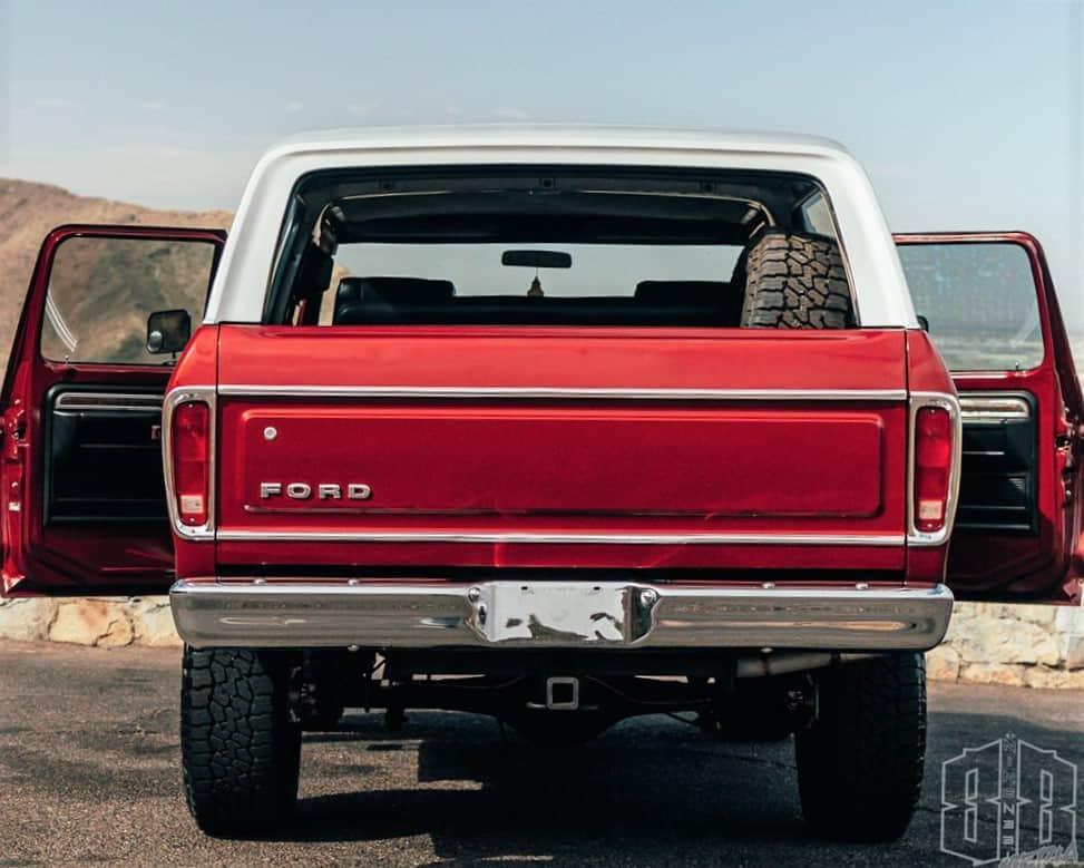 1978 Bronco rear