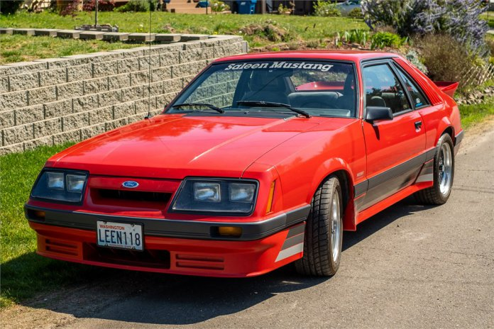1986 Ford Mustang GT Saleen