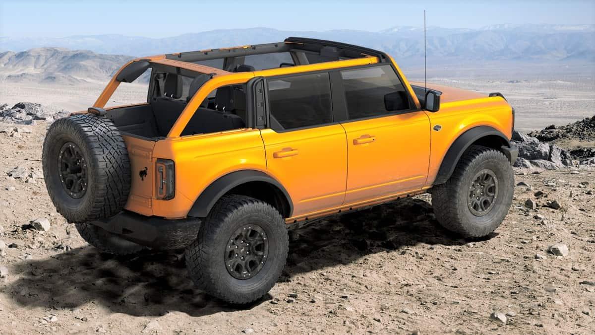 2021 Wildtrak Bronco