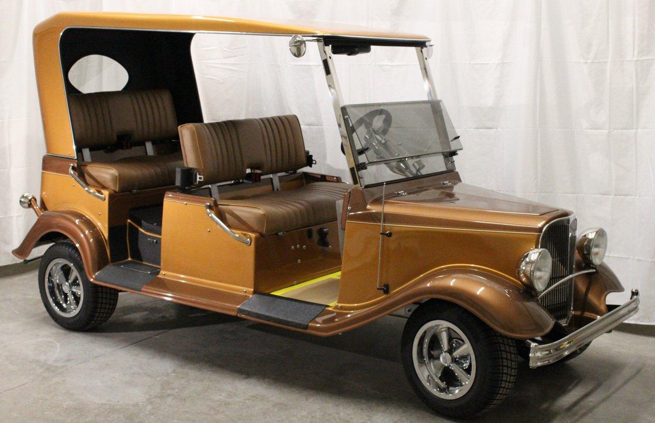 Streetrod golf cart