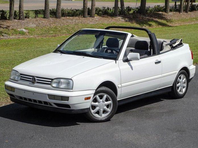 1996 Volkswagen Cabriolet
