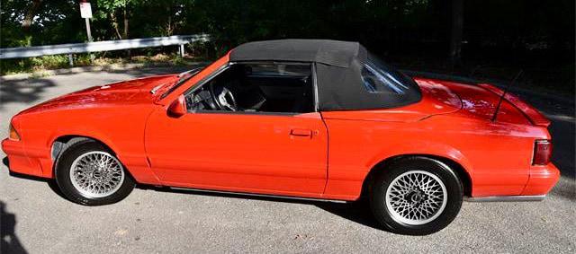 ASC/McLaren Mustang roadster