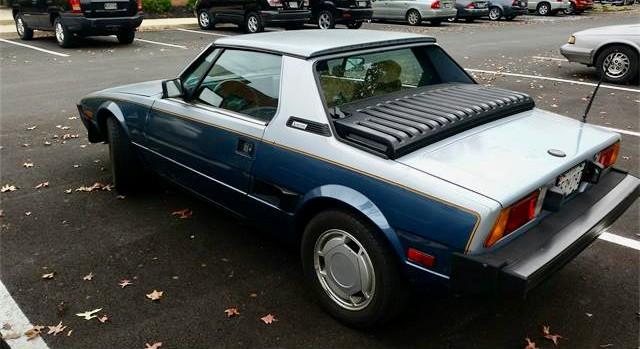 1986 Bertone X1/9