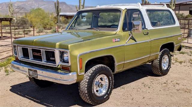 1973 GMC Jimmy K5 Blazer