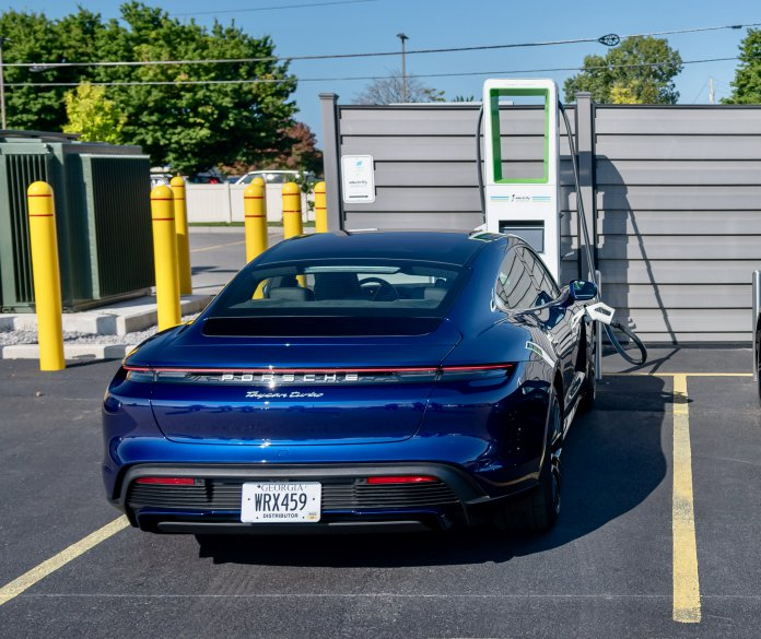 Electrify America offers free Earth Day EV charging