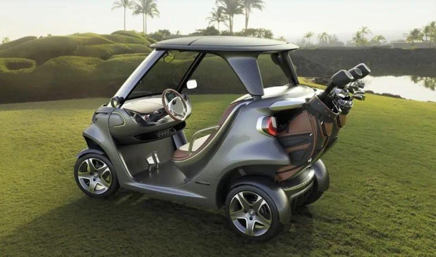 The Garia golf cart
