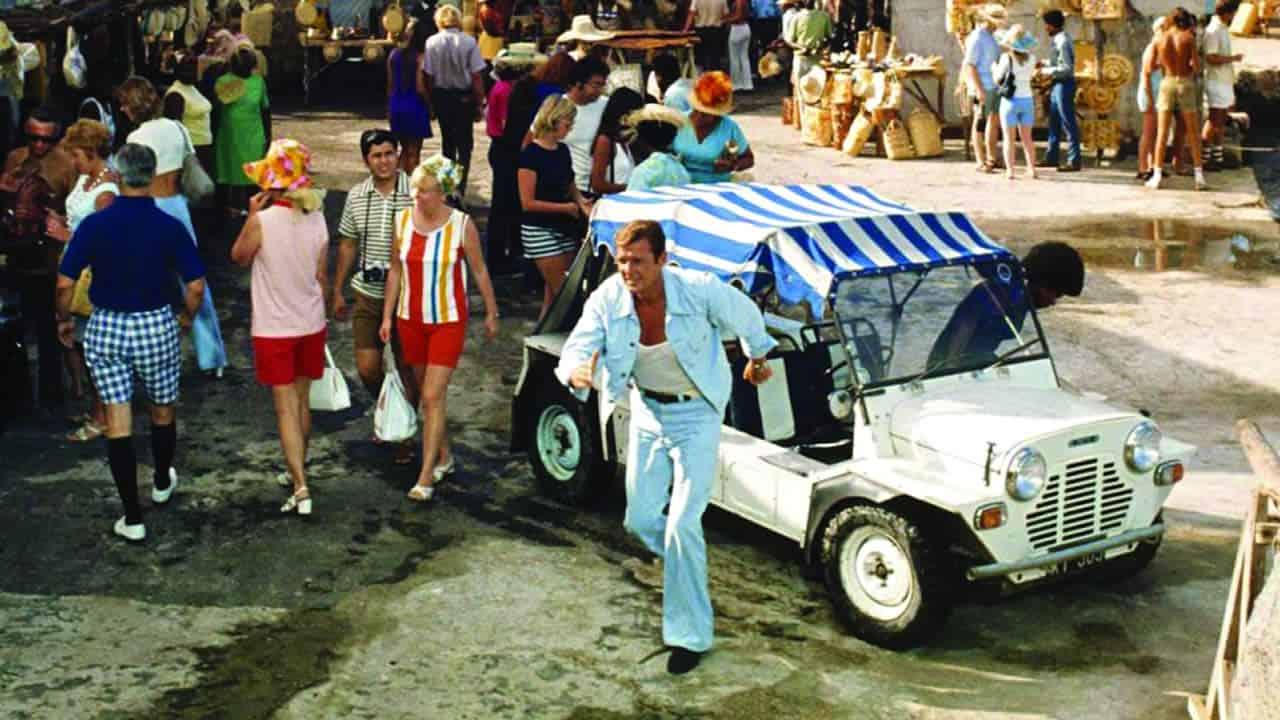 Moke golf cart
