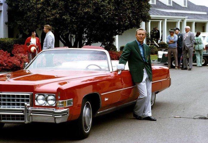 Palmer red Cadillac