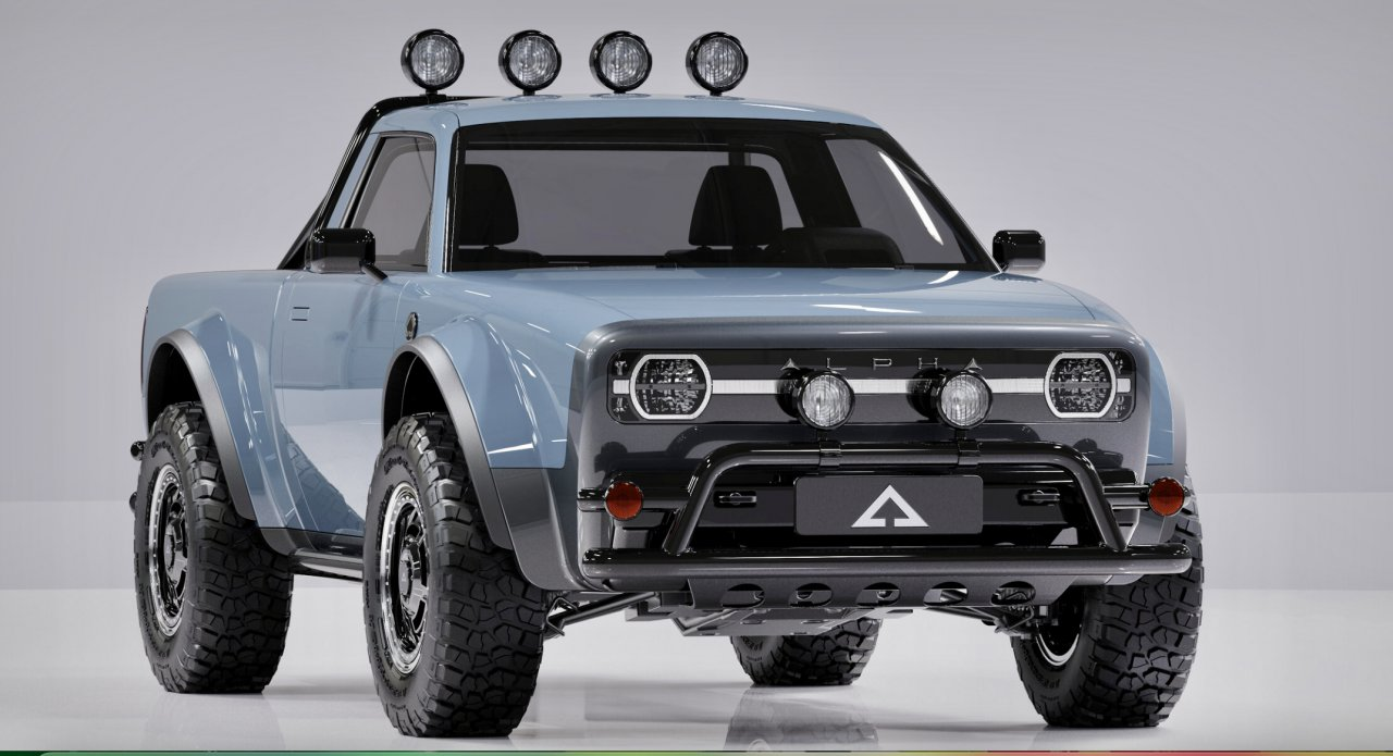 Alpha's Wolf combines retro styling with electric power
