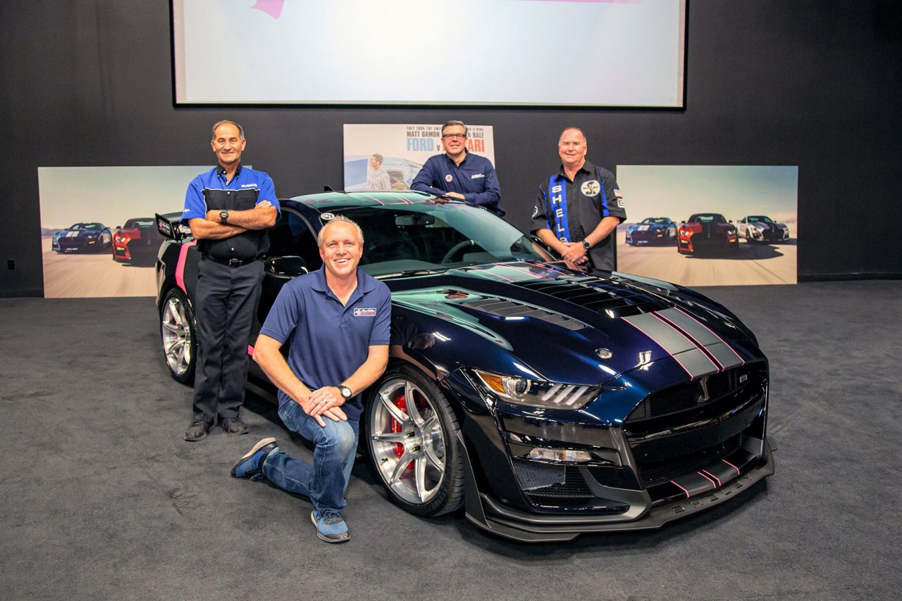 Shelby, Shelby builds 'Hope Edition' GT500SE to help battle cancer, ClassicCars.com Journal