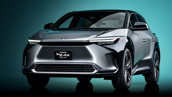 Toyota bZ4X concept vehicle
